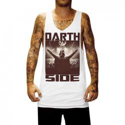 DARTH SIDE WHITE SINGLET