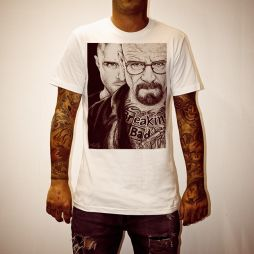 WAYNES BREAKING BAD WHITE TEE