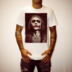 WAYNES HEATH LEDGER WHITE TEE