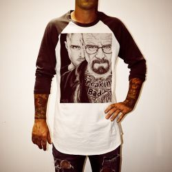 WAYNES BREAKING BAD RAGLAN
