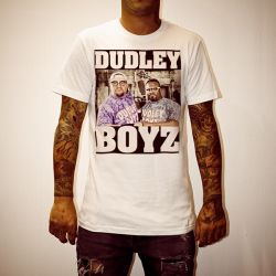 DUDLEY BOYZ WHITE TEE
