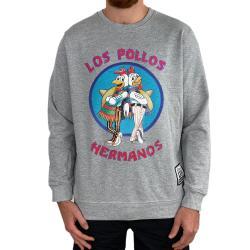 LOS POLLOS MARBLE GREY CREW