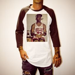 SMOKING HOT JORDAN RAGLAN