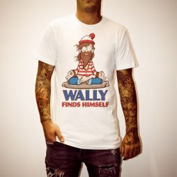 WALLY FOUND WHITE TEE