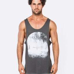 FOUND DESIRE DARK GREY SINGLET