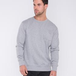 SCHOOL YARD MARBLE GREY CREW