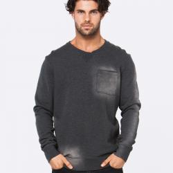 SCHOOLYARD DARK GREY CREW