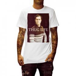 WILL THUG LIFE WHITE TEE