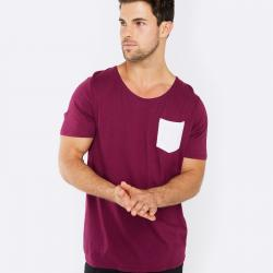 RIP MY POCKET MAROON TEE
