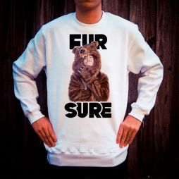 FUR SURE WHITE CREW