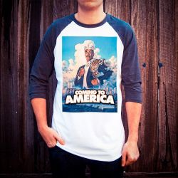 COMING TO AMERICA RAGLAN