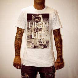HIGH LIFE WHITE TEE