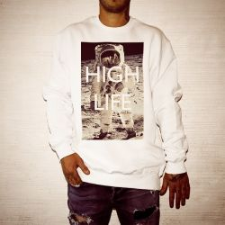 HIGH LIFE WHITE CREW