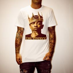 KING KENDRICK WHITE TEE
