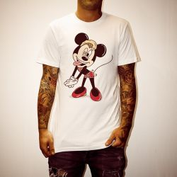 MILEY MOUSE WHITE TEE