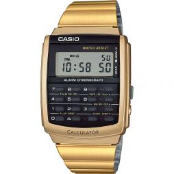 VINTAGE CALCULATOR WATCH - GOLD PLATED