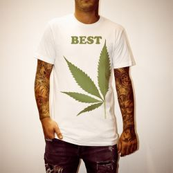 BEST LEAF FUSION WHITE TEE