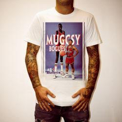 MUGGSY BOGUES WHITE TEE