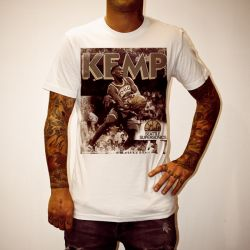 SHAWN KEMP WHITE TEE