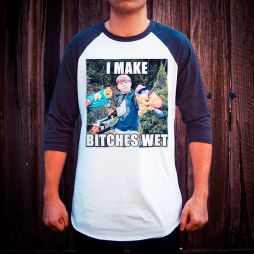 MAKE ME WET RAGLAN