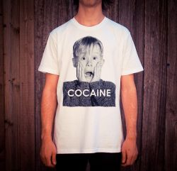 COKE ALONE WHITE TEE