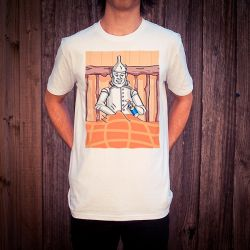 RUSTY TINMAN WHITE TEE
