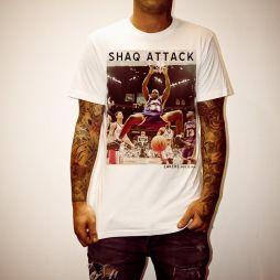 SHAQ ATTACK WHITE TEE