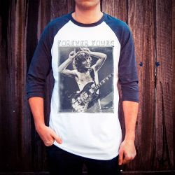 FOREVER YOUNG RAGLAN