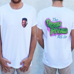 BEL AIR FRESH FRONT AND BACK TEE