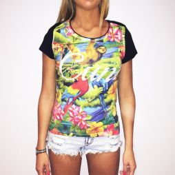 FULL PRINT TROPICUNT WOMENS T-SHIRT