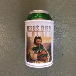 FOR OUR TINS STUBBY HOLDER