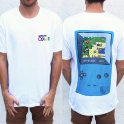 GAME BOY FRONT AND BACK TEE