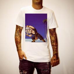 TRUNKS BLUE FUSION WHITE TEE