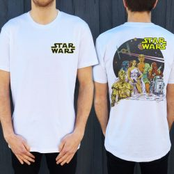VINTAGE JEDI FRONT AND BACK TEE