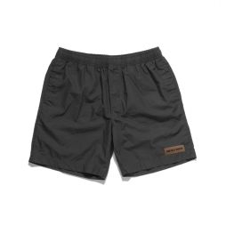 BLACK RECO BEACH SHORTS