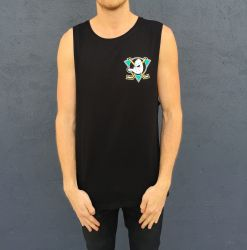 BLACK MIGHTY DUCKS TANK