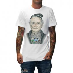 BILL MURRAY WHITE TEE