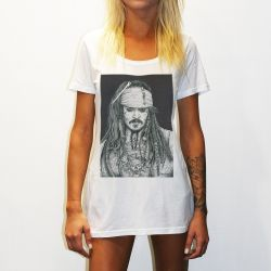 WOMENS CAPTAIN JACK TEE