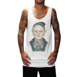 BILL MURRAY WHITE SINGLET