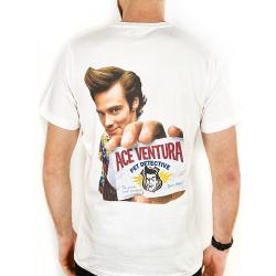 ACE VENTURA FRONT AND BACK TEE