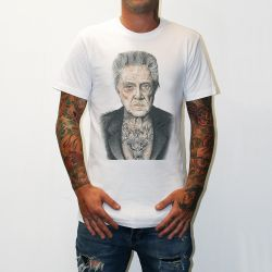 WALKEN WHITE TEE