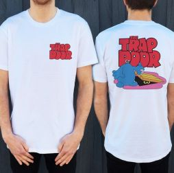 TRAP DOOR FRONT AND BACK TEE