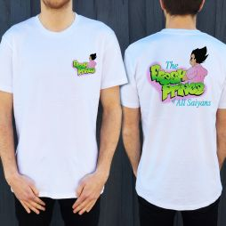 FRESH PRINCE OF SAIYANS FRONT AND BACK TEE