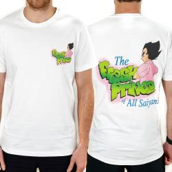FRESH PRINCE OF SAIYANS FRONT AND BACK TEE DBZ