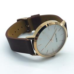 RECO WATCH ROSE GOLD/TAN