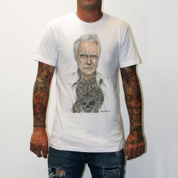 CLINT EASTWOOD WHITE TEE