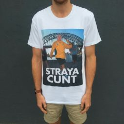 HOWARD STRAYA WHITE TEE