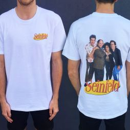 SEINFELD FRONT AND BACK TEE