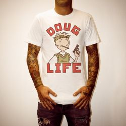 DOUG LIFE WHITE TEE