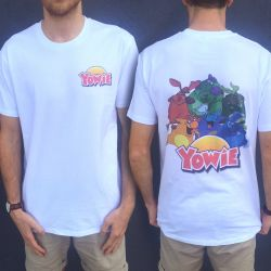 YOWIE FRONT AND BACK WHITE TEE